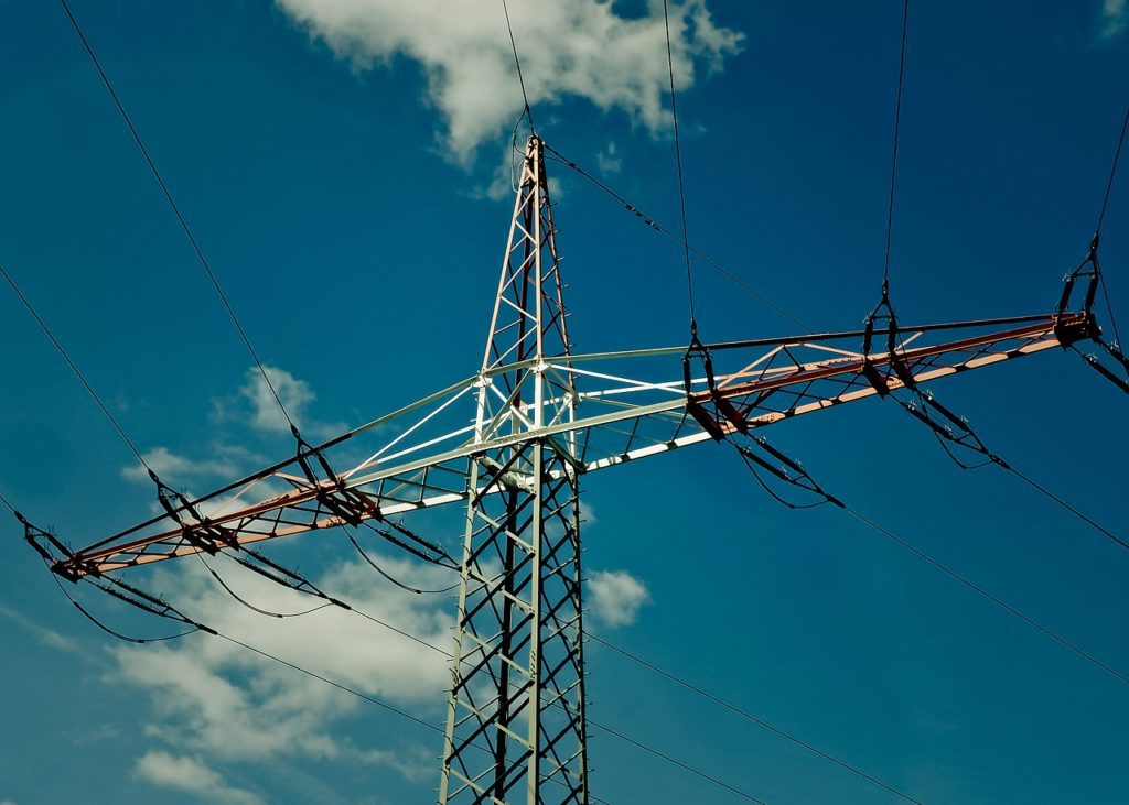 Строительство ЛЭП с монтажом проводов и тросов