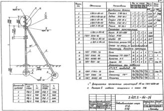 О1Д-5 - ответвительная деревянная опора ВЛ-0.4кВ