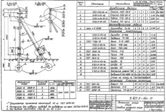 А5ДБ-5 - анкерная деревянная опора ВЛ-0.4кВ