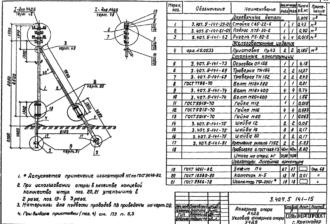 А4ДБ - анкерная деревянная опора ВЛ-0.4кВ