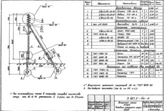 А2ДБ - анкерная деревянная опора ВЛ-0.4кВ