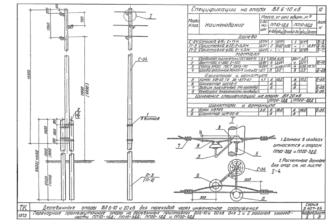 ПП20-1ДД - одноцепная деревянная опора ВЛ-20кВ